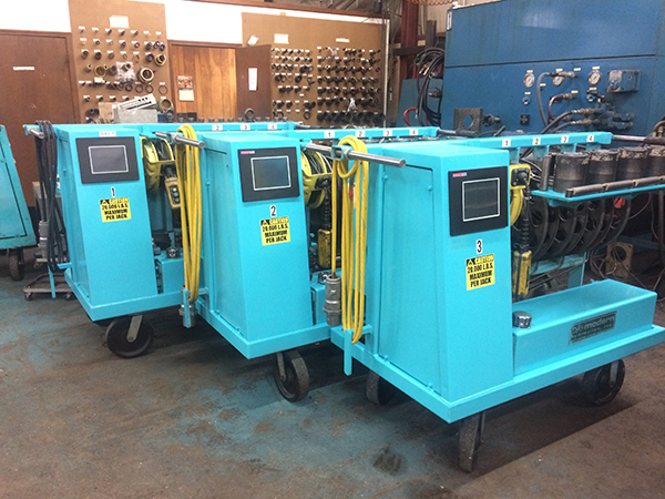 Modern Hydraulic Die Separators re manufactured for the Nissan Motors Corp